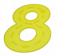 Silishapes Trace Numbers Yellow,Special needs learning resources,numeracy resources,special needs classroom supplies